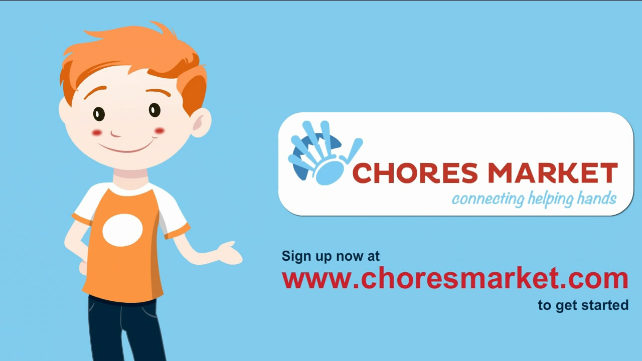 ChoresMarket.com Animated Explainer Video
