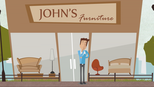 Retail Consumer Finance Animated Explainer Sales Video