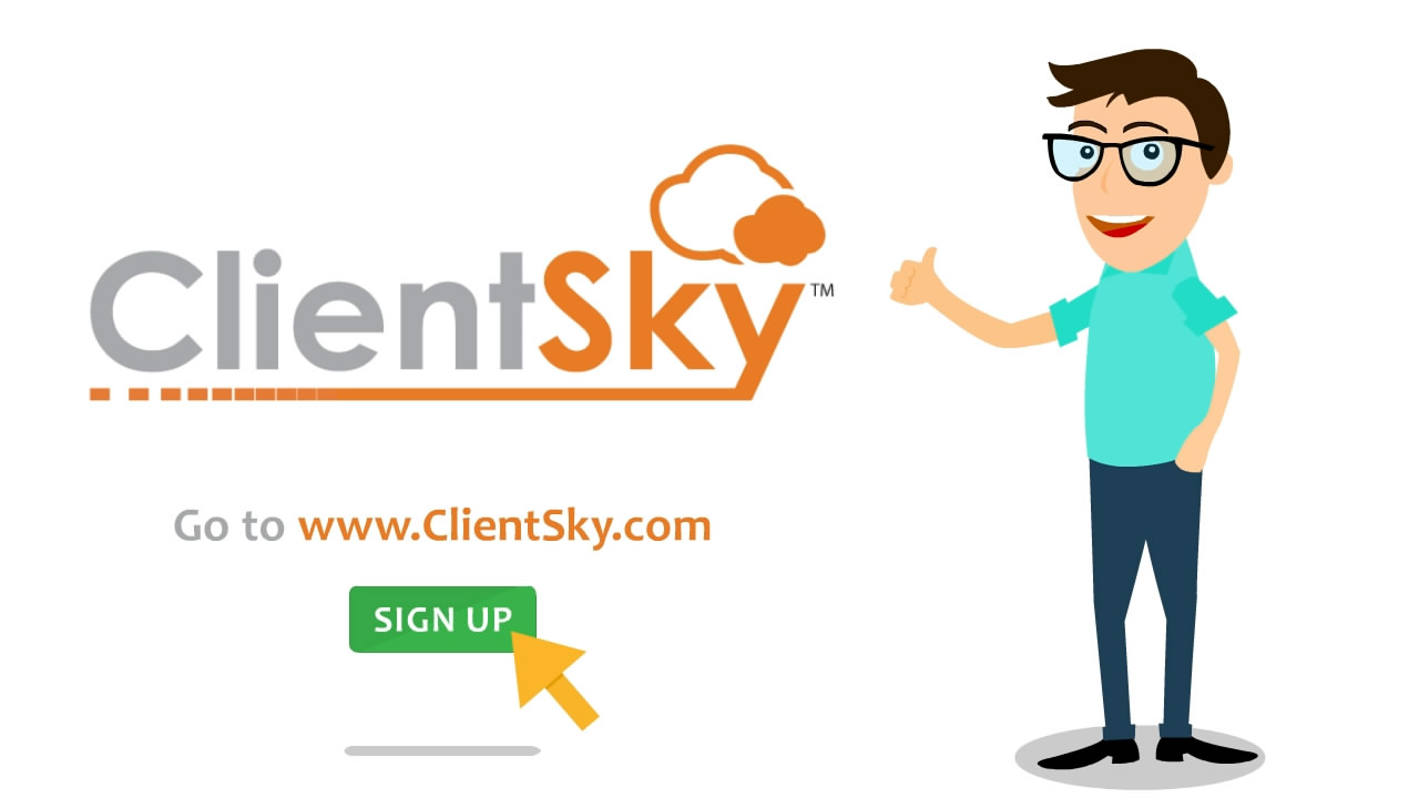 ClientSky.com Animated Explainer Video