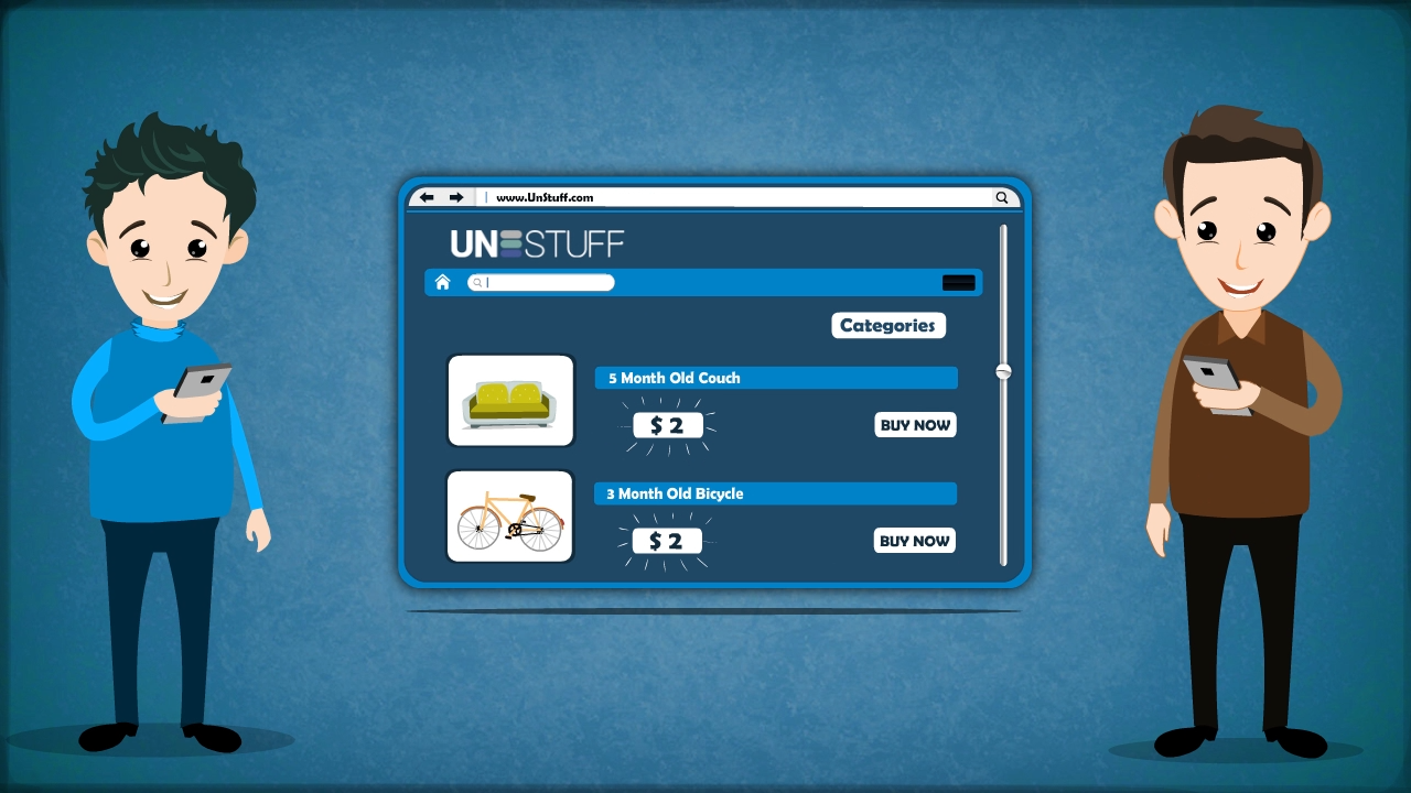 UnStuff.com Animated Explainer Video
