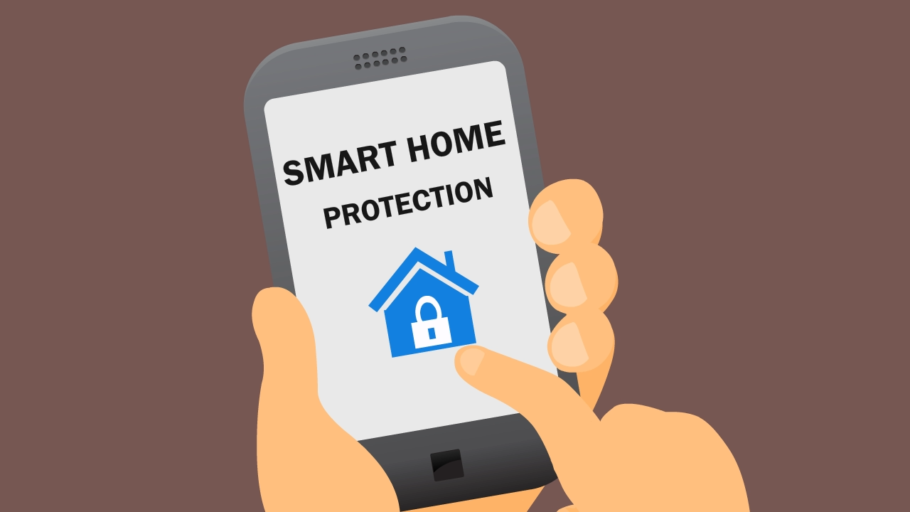 Smart Home Protection Animated Explainer Video