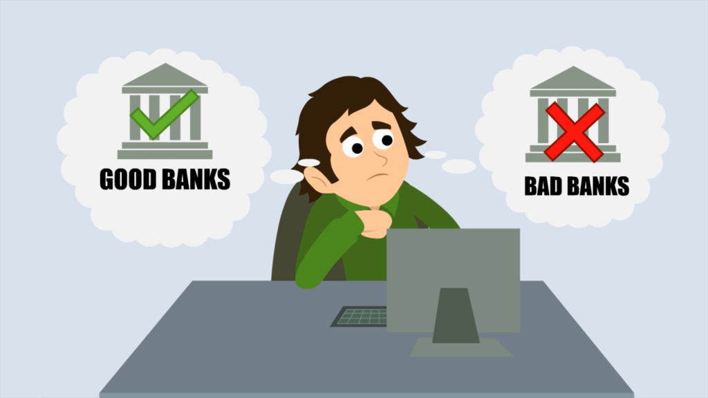 Inspector Mortgage Animated Explainer Video banks