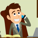 NewZips Real Estate Animated Explainer Video Screenshot Phone Call